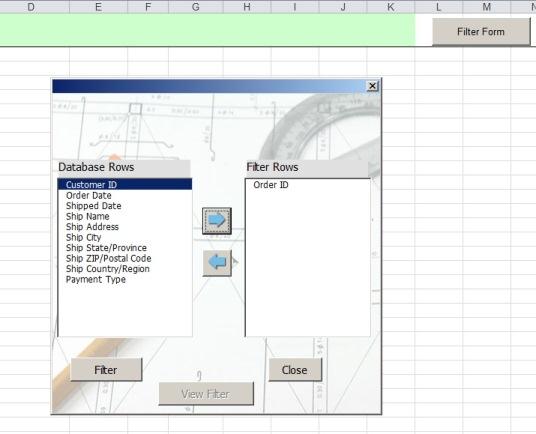 Advanced Filter With Userform   Net Merkez Advanced Ms Excel