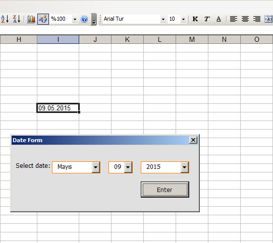 how to change mouse in excel