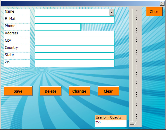 microsoft excel form templates