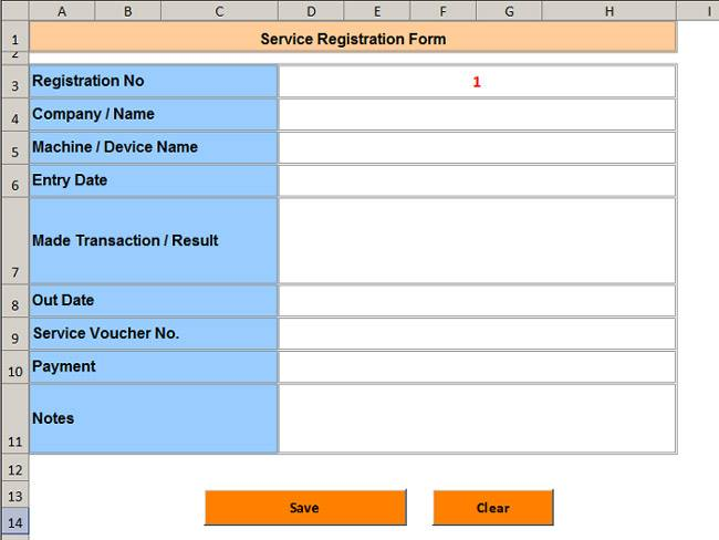 service registration form net merkezadvanced ms excel