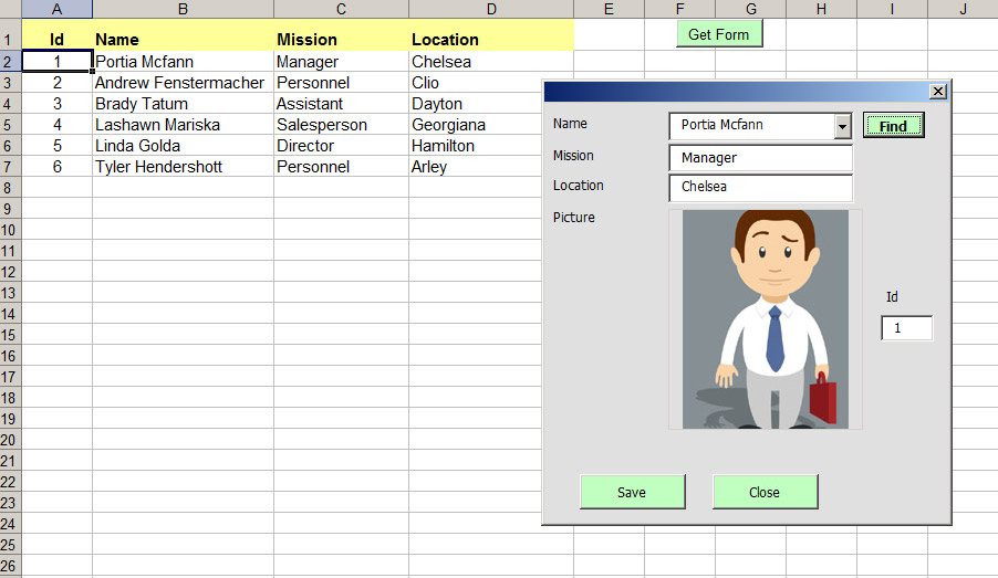 excel vba userform templates download excel vba