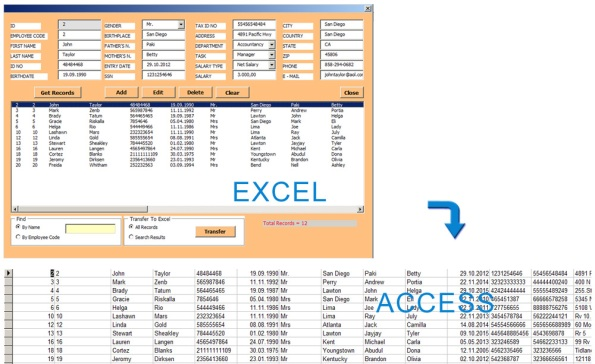 access database