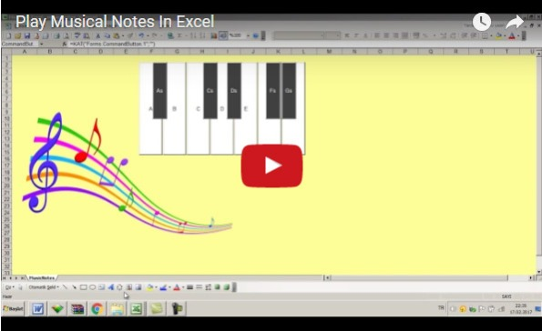 excel play sound