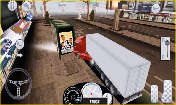 mobile truck simulator