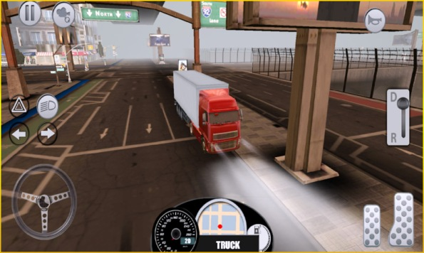 android truck game
